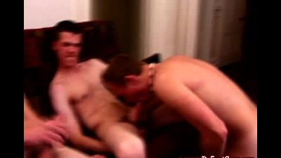 Straight amateur twink group bj action