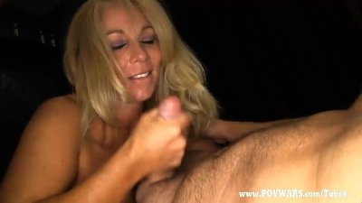 POV Wars Mature babe fucked by 5 guys in a row guy-2