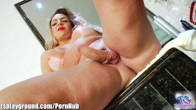 TSPlayground Big Ass, Big Cock, Big-Tits: Masturbation