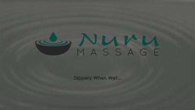 NuruMassage Ebony Babe Ana Foxxx Gives Erotic Massage