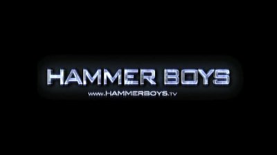 Peter Abbax and Zdeno Kanina - Play with dildo from Hammerboys TV