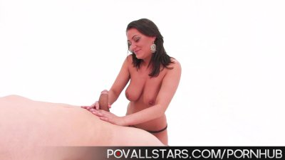 POV Allstars Charley Chase gives sexy hand and blowjob