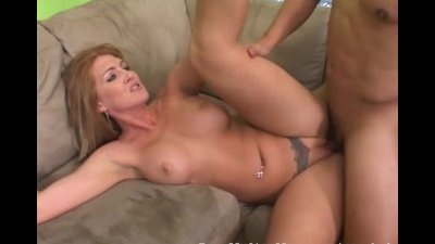 Guy Meets His Hot New Stepmom And Fucks Her
