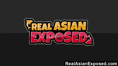 RealAsianExposed Busty Asian Gets Plowed And Facialized