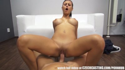 Stunning Big Tits Brunette PornJob Interwiew