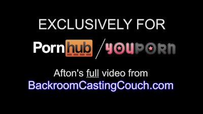 Afton BRCC Anal & Creampie Casting - Full Video
