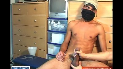 Straight Arab guy doing a porn movie!