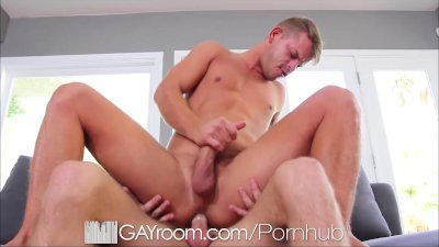 HD - GayRoom Hardcore ass fucking for a sexy boy toy