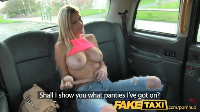 FakeTaxi Stunning blonde with perfect tits