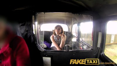 FakeTaxi She loves riding a big cock on the backseat