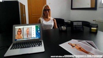 Amazing Sexy Slim Teen Fucks for Fashion Model Job