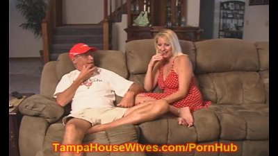Husband and WIFE fuck the Slut